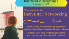 Babysitter Networking Day  Are you a babysitter looking for work, […]