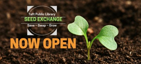 The Taft Public Library Seed Exchange is open to the […]