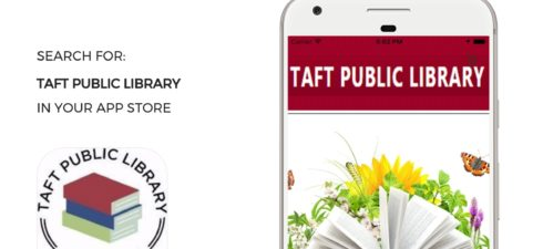 Taft Public Library Announces Its New Mobile App! We […]